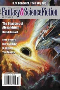 The Magazine of Fantasy and Science Fiction – September/October 2020 cover - click to view full size