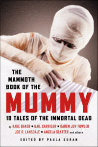 The Mammoth Book of the Mummy cover - click to view full size