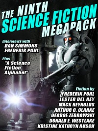 The Ninth Science Fiction Megapack cover - click to view full size