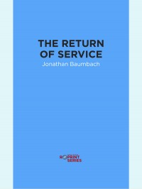 The Return of Service cover - click to view full size
