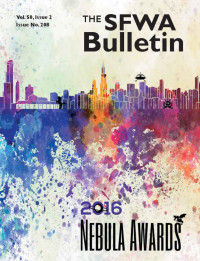 The SFWA Bulletin Issue 208 cover - click to view full size