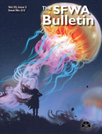 The SFWA Bulletin Issue 212 cover - click to view full size