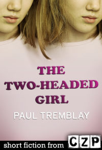 The Two-Headed Girl cover - click to view full size