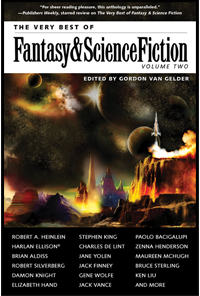 The Very Best of Fantasy and Science Fiction 2 cover - click to view full size