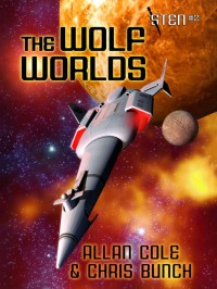 The Wolf Worlds (Sten #2) cover - click to view full size