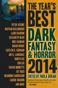 The Year's Best Dark Fantasy and Horror 2014 cover - click to view full size