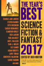 The Year's Best Science Fiction and Fantasy, 2017 Edition