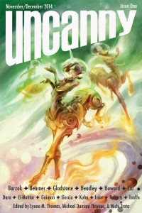 Uncanny Magazine Issue 1 cover - click to view full size