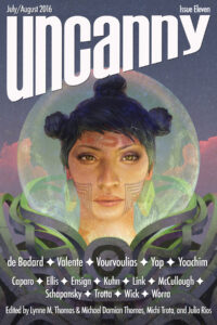 Uncanny Magazine Issue 11 cover - click to view full size
