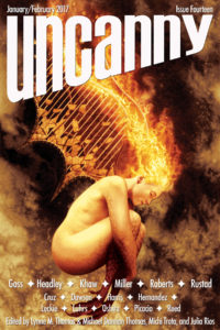 Uncanny Magazine Issue 14 cover - click to view full size