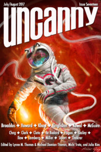 Uncanny Magazine Issue 17 cover - click to view full size