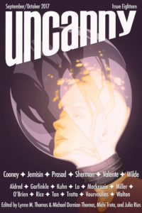Uncanny Magazine Issue 18 cover - click to view full size