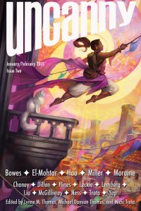 Uncanny Magazine Issue 2 cover - click to view full size