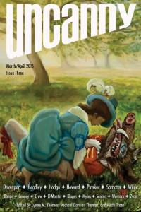Uncanny Magazine Issue 3 cover - click to view full size