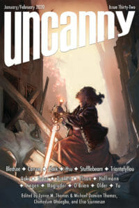 Uncanny Magazine Issue 32 cover - click to view full size