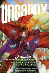 Uncanny Magazine Issue 34 cover - click to view full size