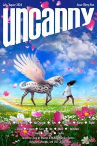 Uncanny Magazine Issue 35 cover - click to view full size