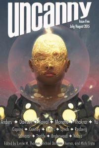 Uncanny Magazine Issue 5 cover - click to view full size