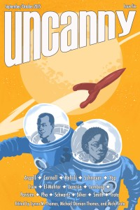 Uncanny Magazine Issue 6 cover - click to view full size