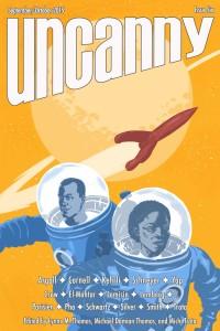 Uncanny Magazine Issue 6 cover