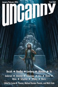 Uncanny Magazine Issue 8 cover - click to view full size