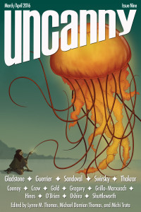 Uncanny Magazine Issue 9 cover - click to view full size