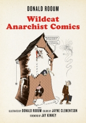 Wildcat Anarchist Comics cover - click to view full size